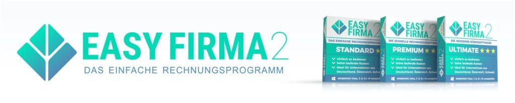 EasyFirma 2 - das einfache Rechnungsprogramm