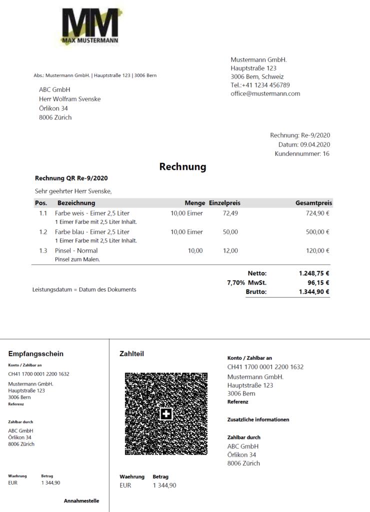 QR-Rechnung-Schweiz-Beispiel